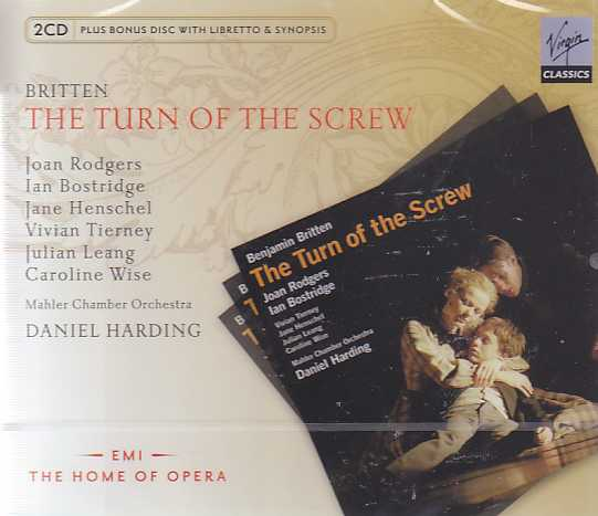 Benjamin Britten / The Turn of the Screw / Ian Bostridge / Joan Rodgers / Mahler Chamber Orchestra / Daniel Harding