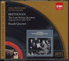 Ludwig van Beethoven / String Quartets (Late) / Busch Quartet / Great Recordings of the Century