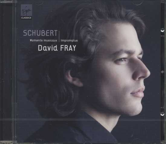 Franz Schubert / Moments musicaux / Impromptus / David Fray