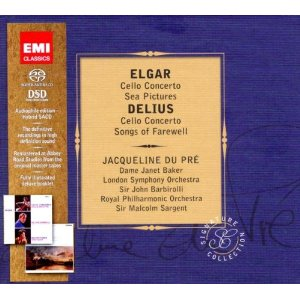 Edward Elgar / Cello Concerto / Sea Pictures / Frederick Delius / Cello Concerto / Songs of Farewell / Jacqueline du Pré SACD