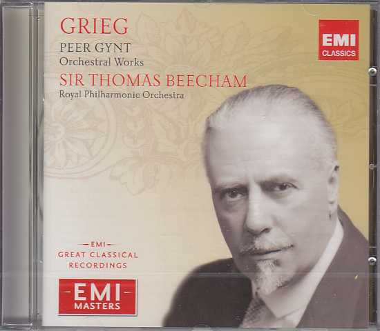 Edvard Grieg / Peer Gynt / Thomas Beecham / Great Recordings of the Century