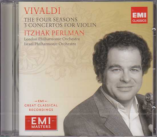 Antonio Vivaldi / The Four Seasons etc. / Itzhak Perlman (EMI Masters)