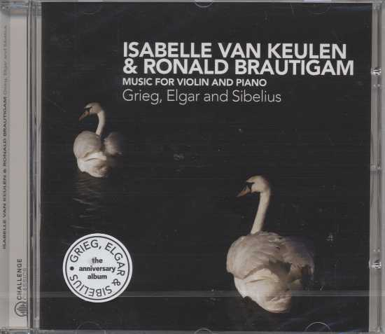 Edvard Grieg / Violin Sonata / Edward Elgar / Jean Sibelius / Music for Violin and Piano / Isabelle Keulen / Ronald Brautigam