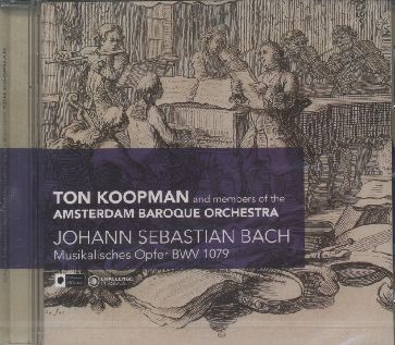 J.S. Bach / Musikalisches Opfer BWV 1079 / Ton Koopman / Amsterdam Baroque Orchestra