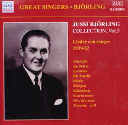 Jussi Björling / Collection Vol. 5