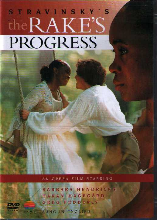 Igor Stravinsky / The Rake's Progress / Barbara Hendricks / Håkan Hagegård / Esa-Pekka Salonen DVD