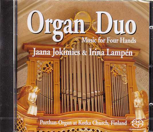 Organ Duo / Jaana Jokimies & Irina Lampén / Porthan-Organ at Kotka Church, Finland