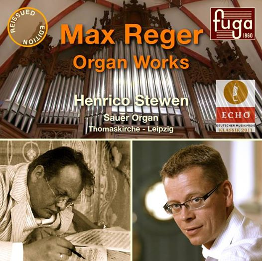 Max Reger / Organ Works vol. 1 // Henrico Stewen at the Sauer Organ of the Thomaskirche in Leipzig