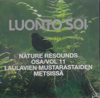 Luonto soi vol. 11 / Laulavien mustarastaiden metsissä / Finnish Nature Resounds / The Song of the Blackbirds through the woods