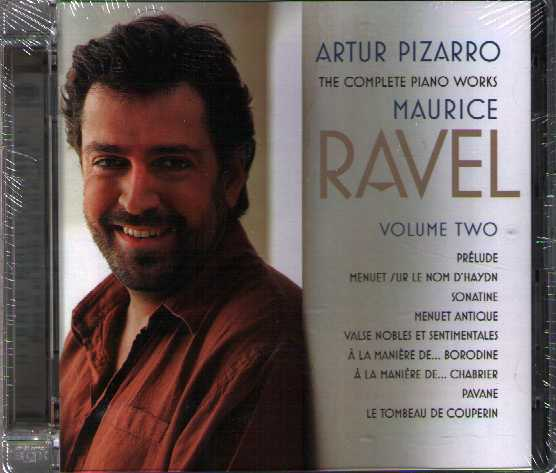Maurice Ravel / The Complete Piano Works, Vol 2 / Artur Pizarro SACD