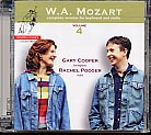 W.A. Mozart / Complete Sonatas for Keyboard and Violin, Vol. 4 / Gary Cooper / Rachel Podger SACD