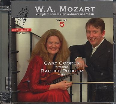 W.A. Mozart / Complete Sonatas for Keyboard and Violin, Vol. 5 / Gary Cooper / Rachel Podger SACD