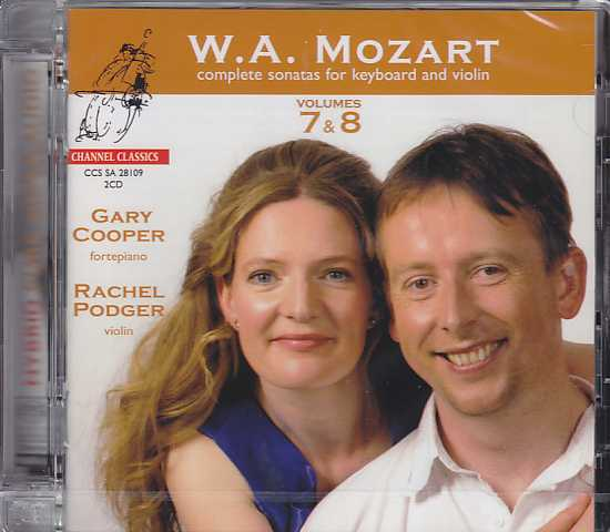 W.A. Mozart / Complete Sonatas for Keyboard and Violin, Vol. 7 & 8 / Gary Cooper / Rachel Podger SACD