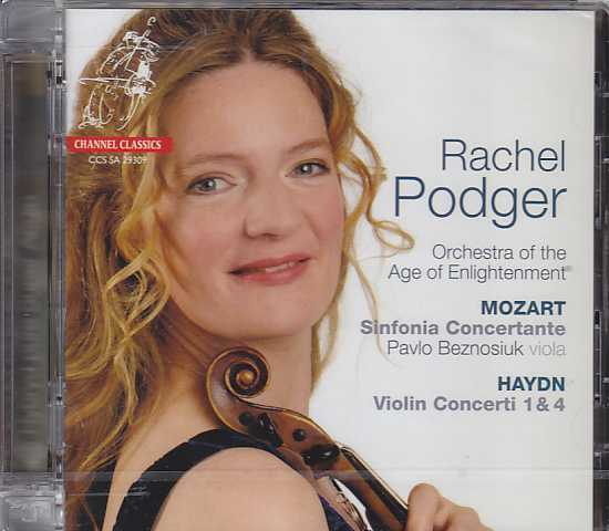 Joseph Haydn / Violin Concertos / W.A. Mozart / Sinfonia Concertante / Rachel Podger / Orchestra of the Age of Enlightenment SACD