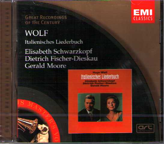 Hugo Wolf / Italianisches Liederbuch / Elisabeth Schwarzkopf / Dietrich Fischer-Dieskau / Great Recordings of the Century