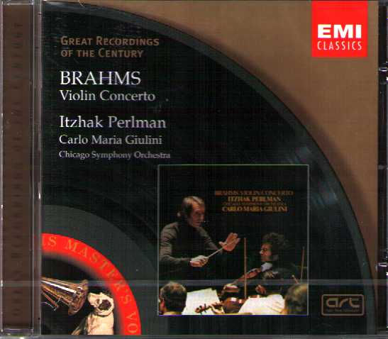 Johannes Brahms / Violin Concerto / Itzhak Perlman / Great Recordings of the Century