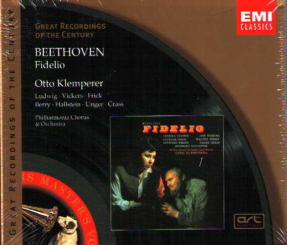 Ludwig van Beethoven / Fidelio / Otto Klemperer / Christa Ludwig / Jon Vickers / Great Recordings of the Century