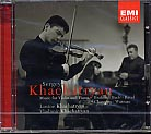 Sergei Khachatryan / Music for Violin and Piano / Johannes Brahms / J.S. Bach / Maurice Ravel / Ernest Chausson / Franz Waxman