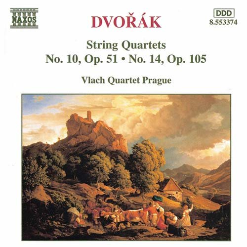 Antonín Dvorák: String Quartets No.10 & 14 / Vlach Quartet Prague