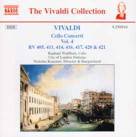 Antonio Vivaldi / Cello Concerti vol. 4