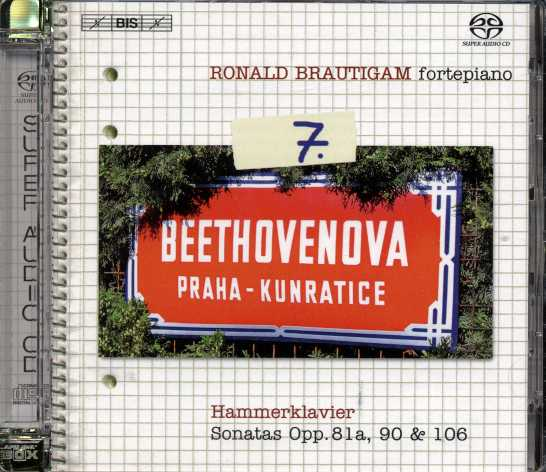 Ludwig van Beethoven / Piano Works, vol. 7 / Ronald Brautigam SACD