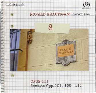 Ludwig van Beethoven / Piano Works, vol. 8 / Ronald Brautigam SACD