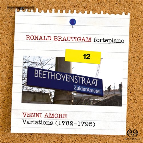 Ludwig van Beethoven / Complete Works for Solo Piano vol. 12 // Ronald Brautigam