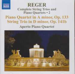 Max Reger / String Trio in D minor