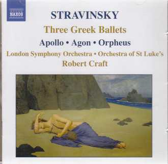 Igor Stravinsky / Three Greek Ballets / London Symphony Orchestra / Robert Craft