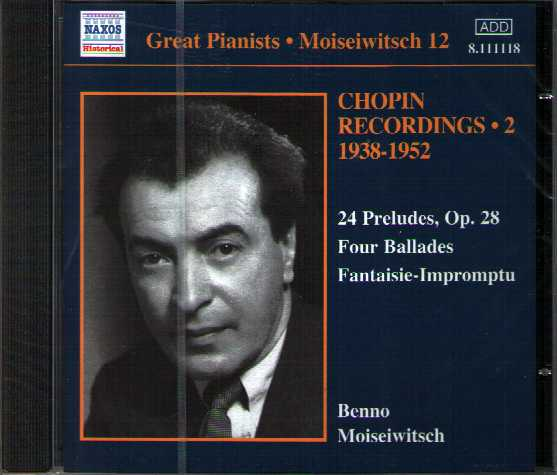 Frédéric Chopin / Piano Works / Benno Moiseiwitsch, vol. 2