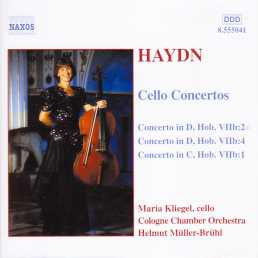 Joseph Haydn / Cello Concertos / Maria Kliegel / Cologne Chamber Orchestra / Helmut Müller-Brühl