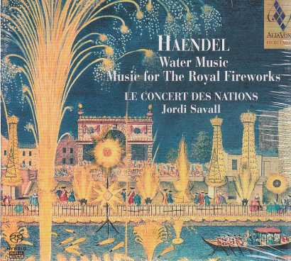 Georg Friedrich Haendel / Water Music / Le Concert des Nations / Jordi Savall SACD
