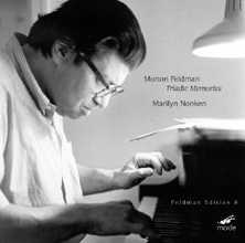 Morton Feldman / Triadic Memories / Marilyn Nonken
