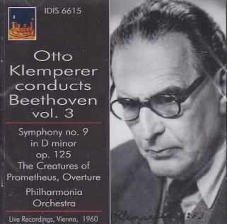 Ludwig van Beethoven / Symphony no. 9 / Philharmonia Orchestra / Otto Klemperer