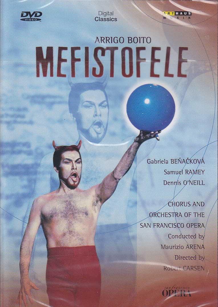 Arrigo Boito / Mefistofele DVD