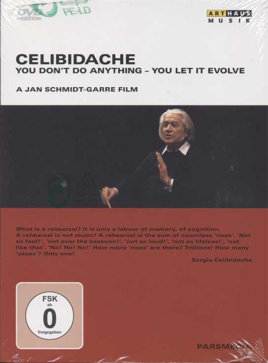 Celibidache: You Don't Do Anything - You Let It Evolve / a Jan Schmidt-Garre Film DVD