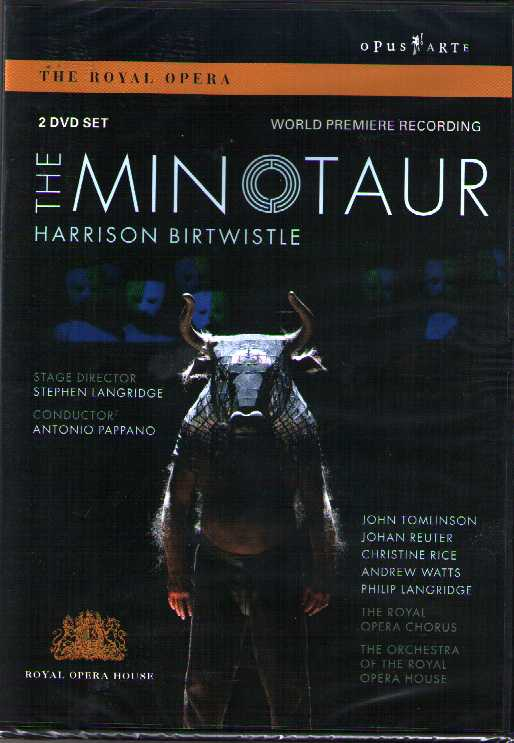 Harrison Birtwistle / The Minotaur / John Tomlinson / Christine Rice / Royal Opera House DVD