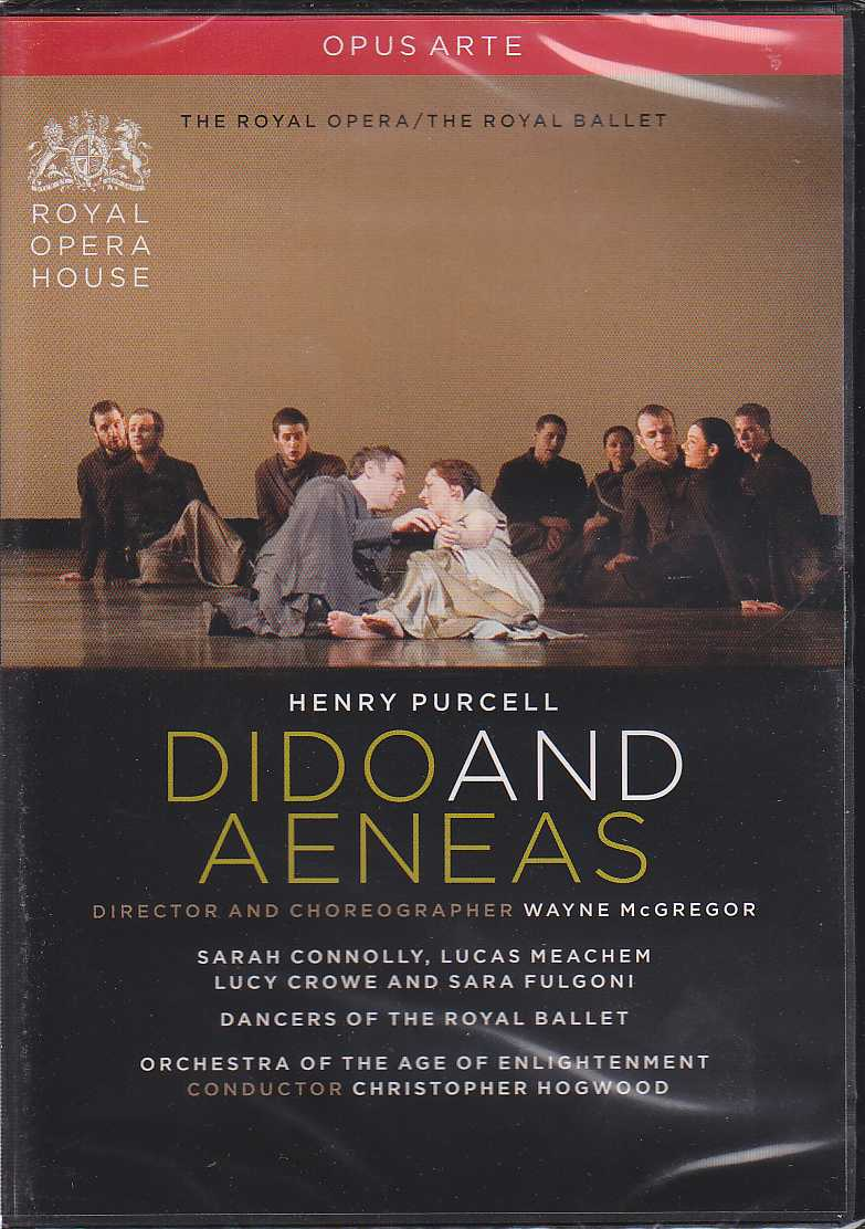 Henry Purcell / Dido and Aeneas // Sarah Connolly / Lucas Meachem / Orchestra of the Age of Enlightenment / Christopher Hogwood DVD