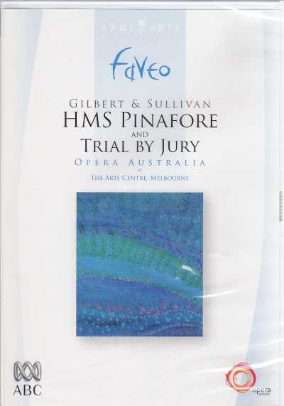 Arthur Sullivan / HMS Pinafore & Trial by Jury / Anthony Warlow / David Hobsson / Orchestra Victoria / Andrew Greene DVD