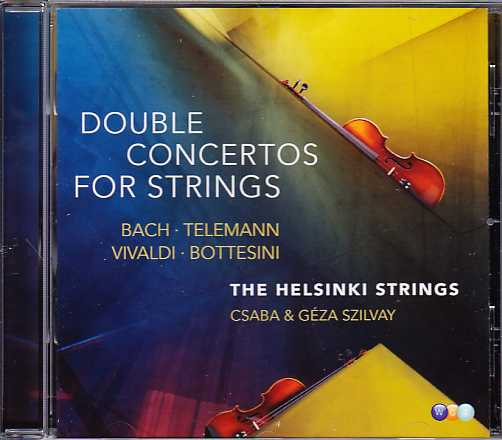 Helsinki Strings / Double Concertos for Strings / J.S. Bach / Georg Philipp Telemann / Antonio Vivaldi / Giovanni Bottesini