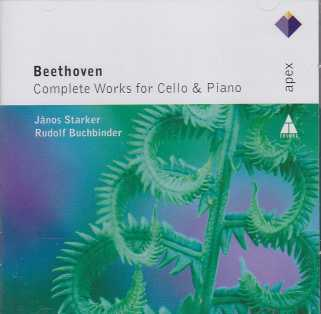 Ludwig van Beethoven / Works for Cello & Piano (Complete) / János Starker / Rudolf Buchbinder