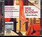 Franz Xaver Richter / Johann Stamitz / Early String Symphonies, vol. 1 / New Dutch Academy / Simon Murphy SACD