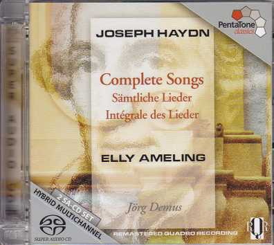 Joseph Haydn / Complete Original Solo Songs with Piano / Elly Ameling / Jörg Demus