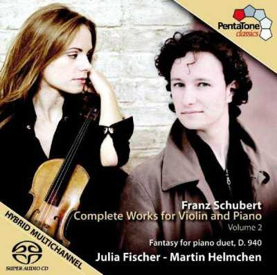 Franz Schubert / Works for Violin & Piano, vol. 2 / Julia Fischer / Martin Helmchen