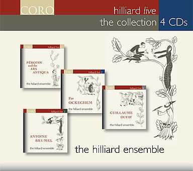 Hilliard Ensemble / Hilliard Live Collection 4CD