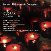 Antonín Dvorák / Requiem / Lisa Milne / Karen Cargill / Peter Auty / Peter Rose / London Philharmonic Orchestra and Choir / Neeme Järvi 2CD
