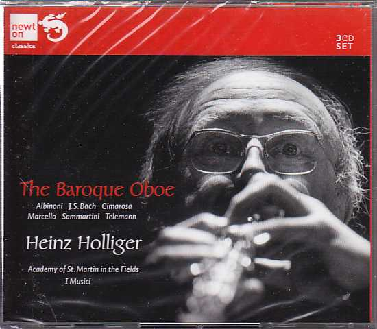 The Baroque Oboe / Heinz Holliger