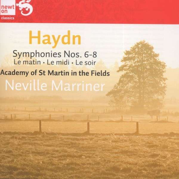 Joseph Haydn / Symphonies Nos. 6-8 / Academy of St Martin in the Fields / Neville Marriner
