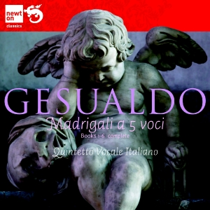 Carlo Gesualdo / Six books of madrigals for five voices / Quintetto Vocale Italiano 6CD