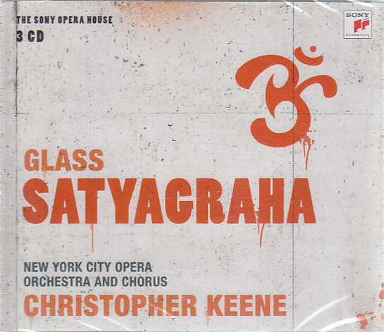 Philip Glass / Satyagraha / Douglas Perry / Claudia Cummings / New York City Opera / Christopher Keene